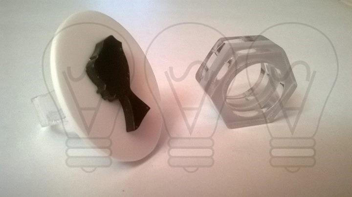 MY BIJOUX: Realizzazione di anelli in plexiglass