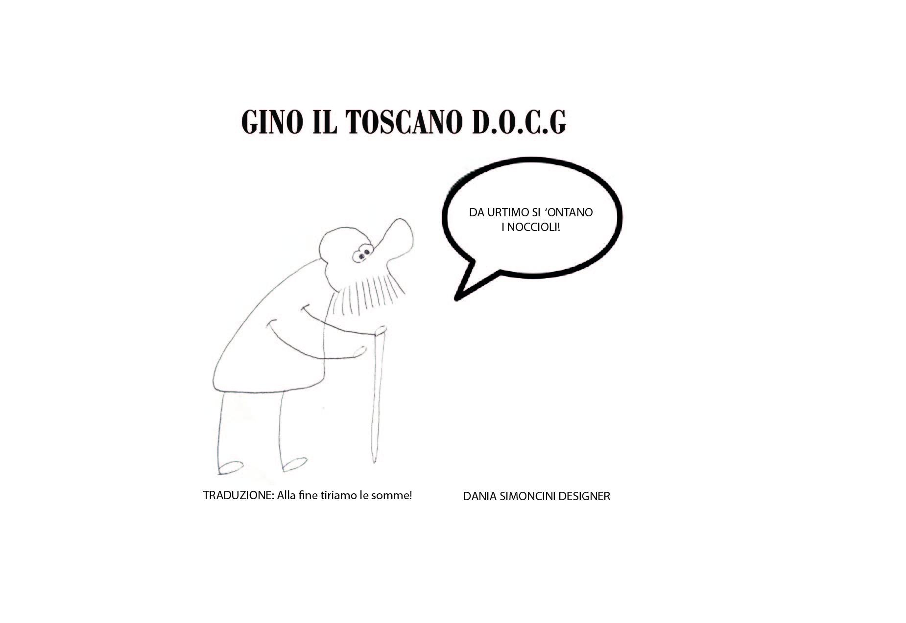 Fumetto Toscano detti e proverbi