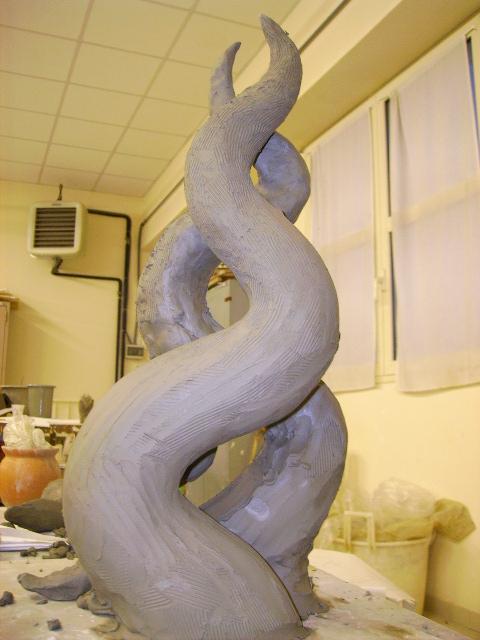 Scultura argilla