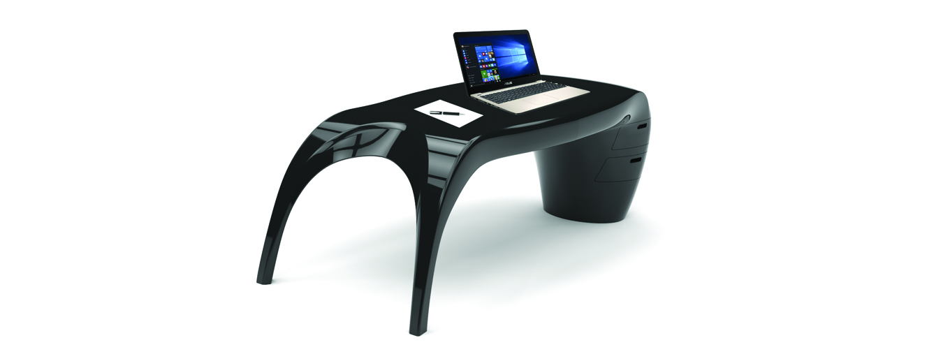 Lady Desk black