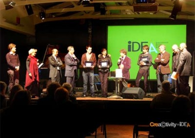Premiazione Premio IDEA International Design Education Award