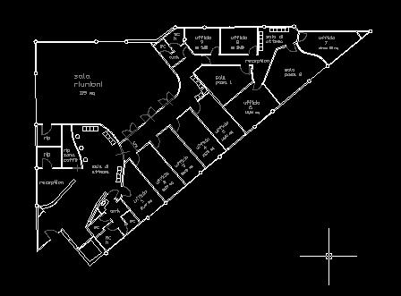 Planimetria centro multiservizi