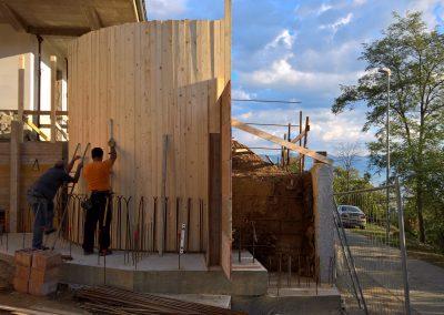 Realizzazione di scala in cemento armato