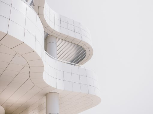 Particolari di architetture e materiali