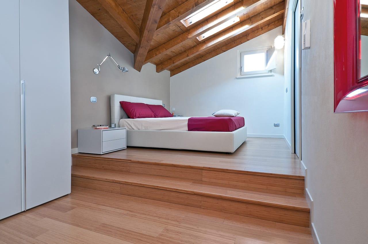 BAMBOO pavimento camera da letto