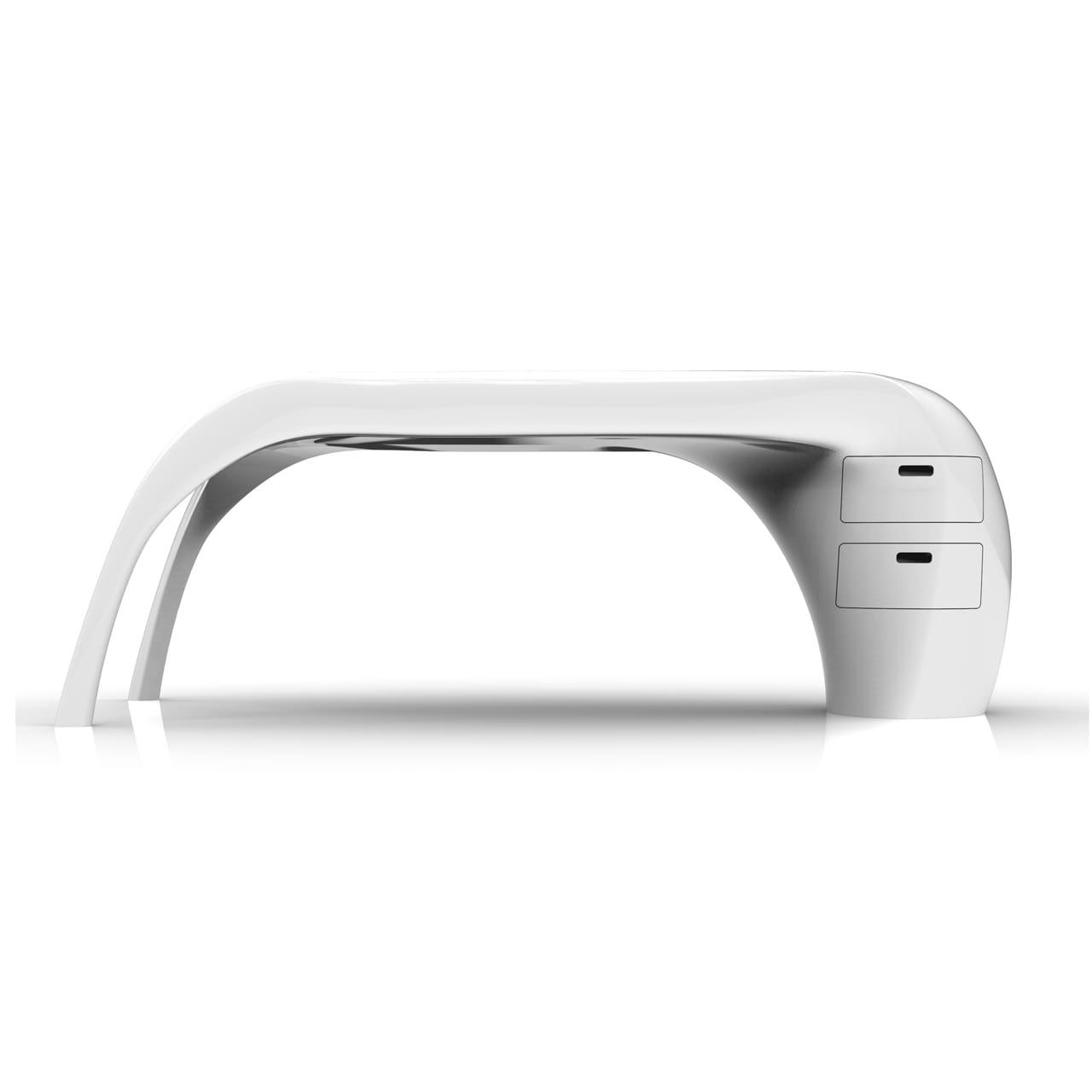 LADY DESK scrivania bianca realizzata in Adamantx