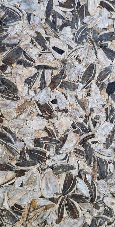Organoid girasole rivestimento decorativo con materie naturali al tatto e olfatto